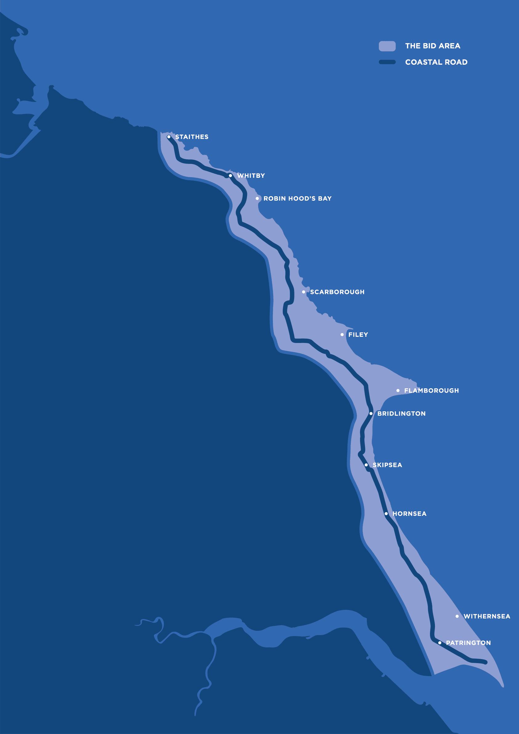 Yorkshire Coast BID Updated Boundary